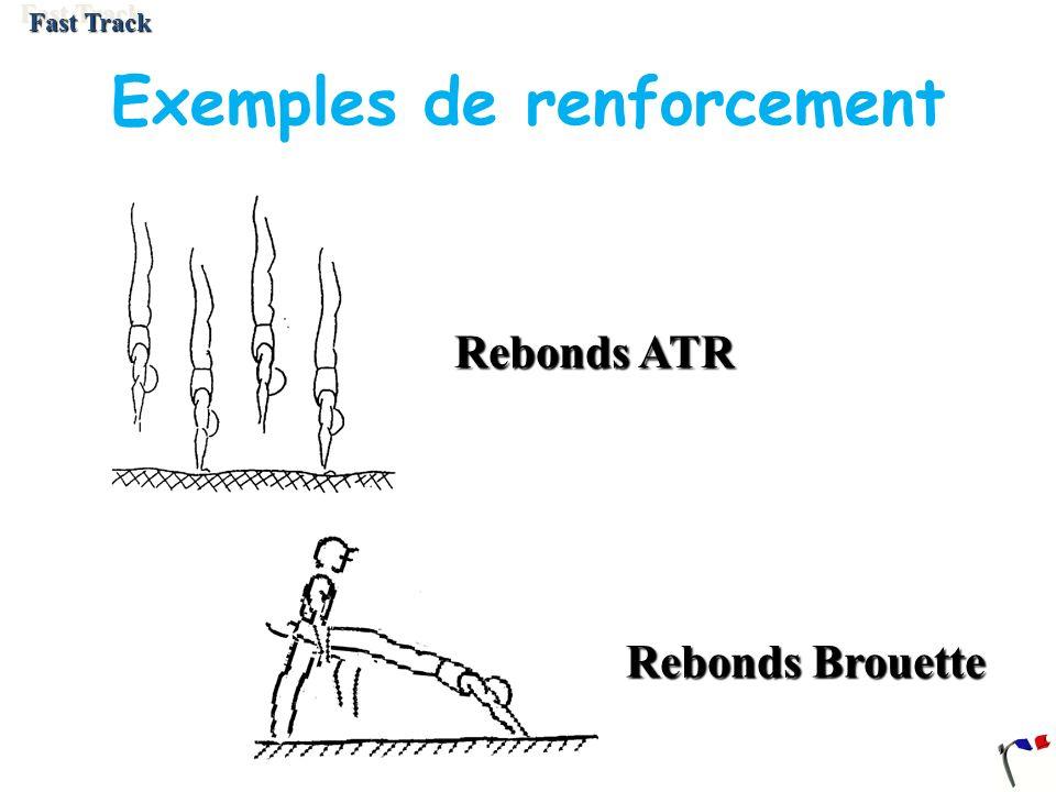 Exemples de renforcement