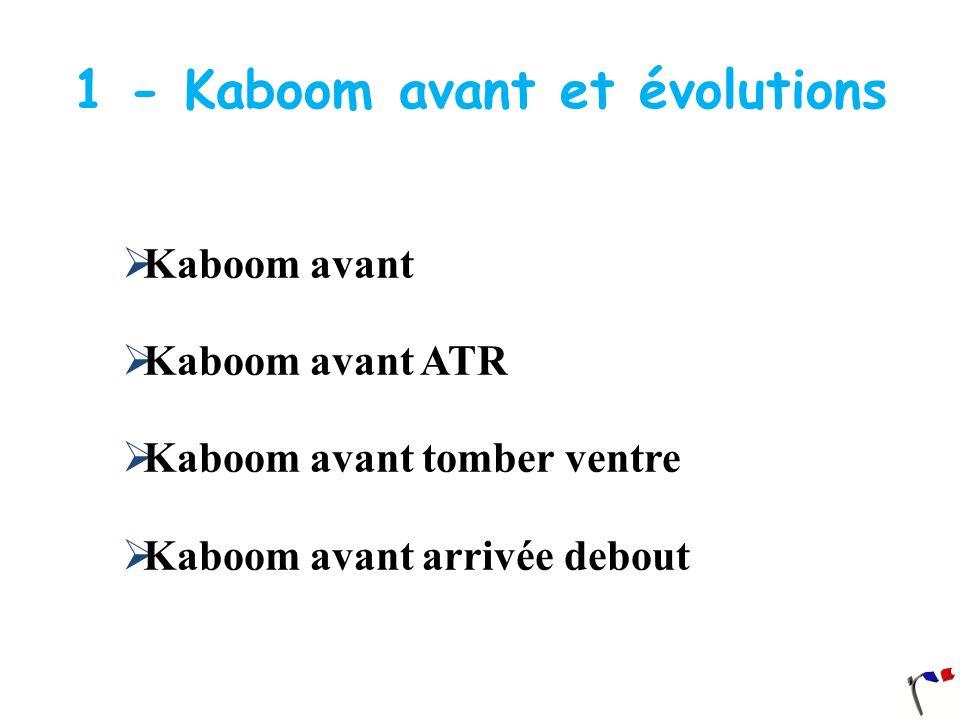 1 - Kaboom avant et évolutions