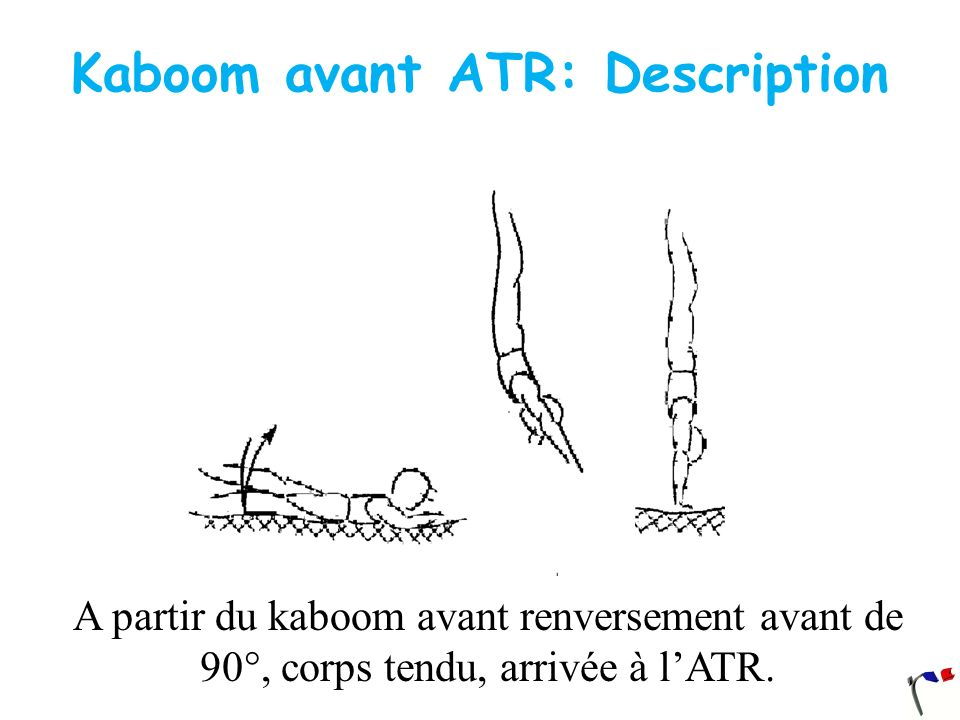 Kaboom avant ATR: Description