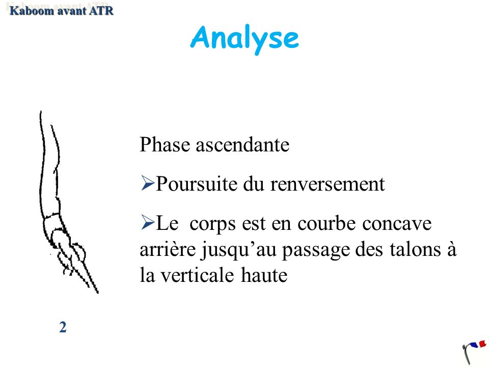 Analyse Phase ascendante Poursuite du renversement