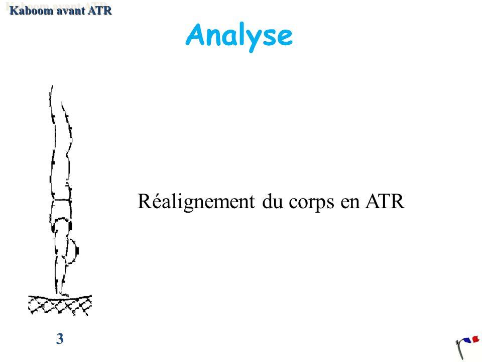 Kaboom avant ATR Analyse 3 Réalignement du corps en ATR