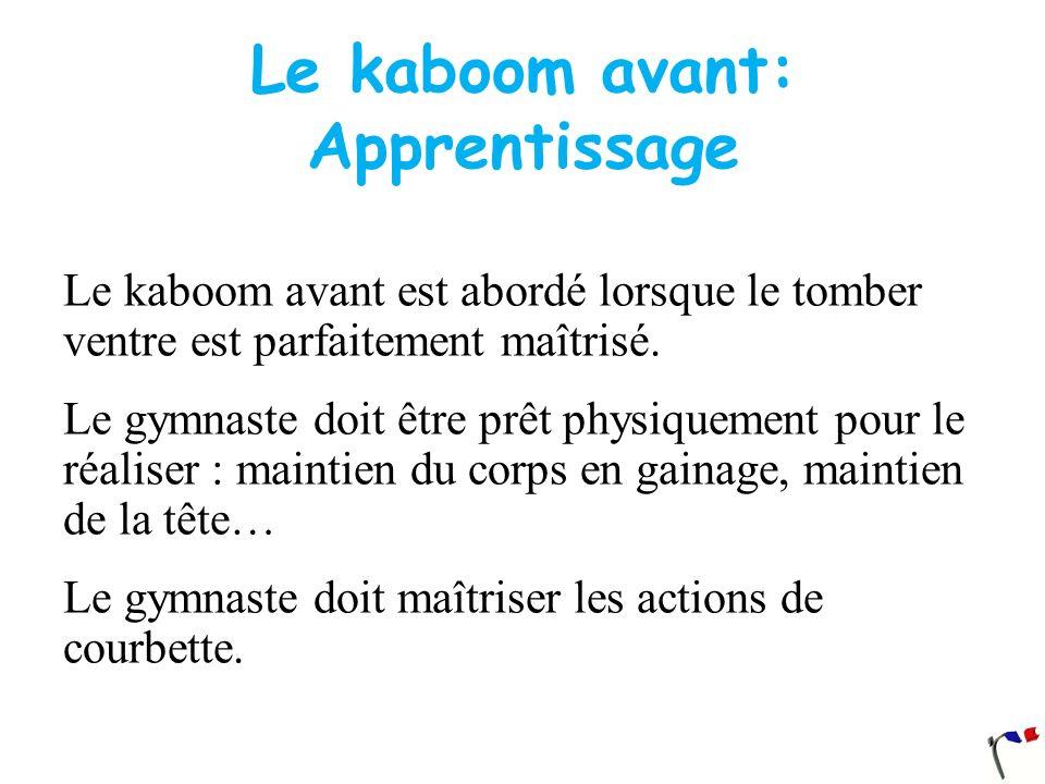 Le kaboom avant: Apprentissage