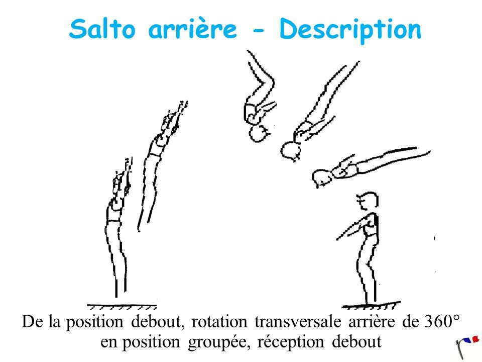 Salto arrière - Description