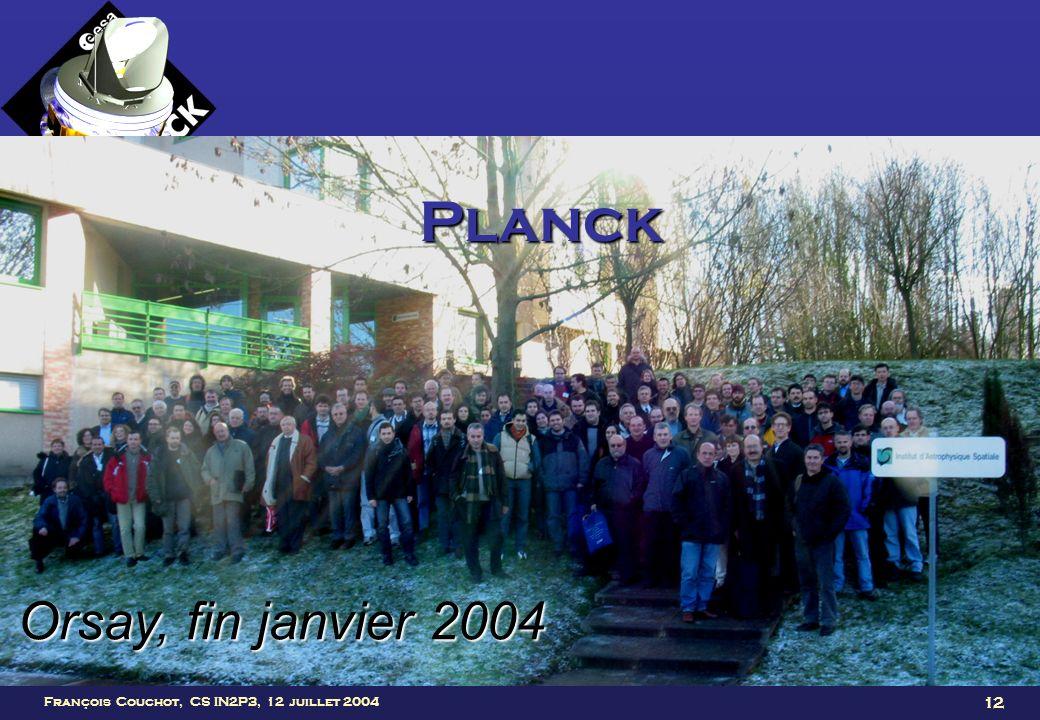 Planck Orsay, fin janvier 2004