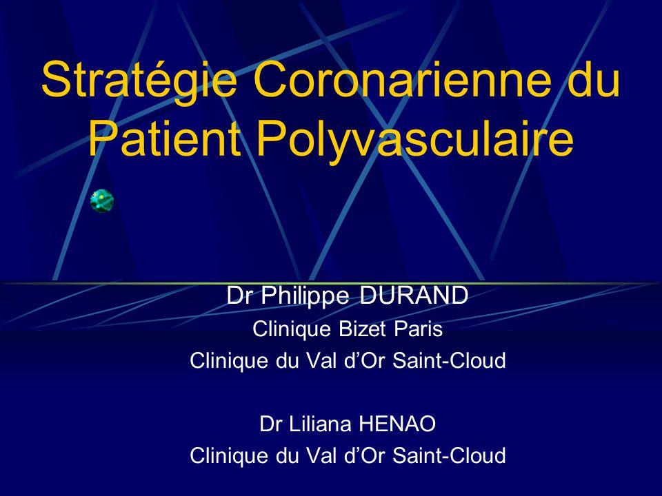 Stratégie Coronarienne du Patient Polyvasculaire