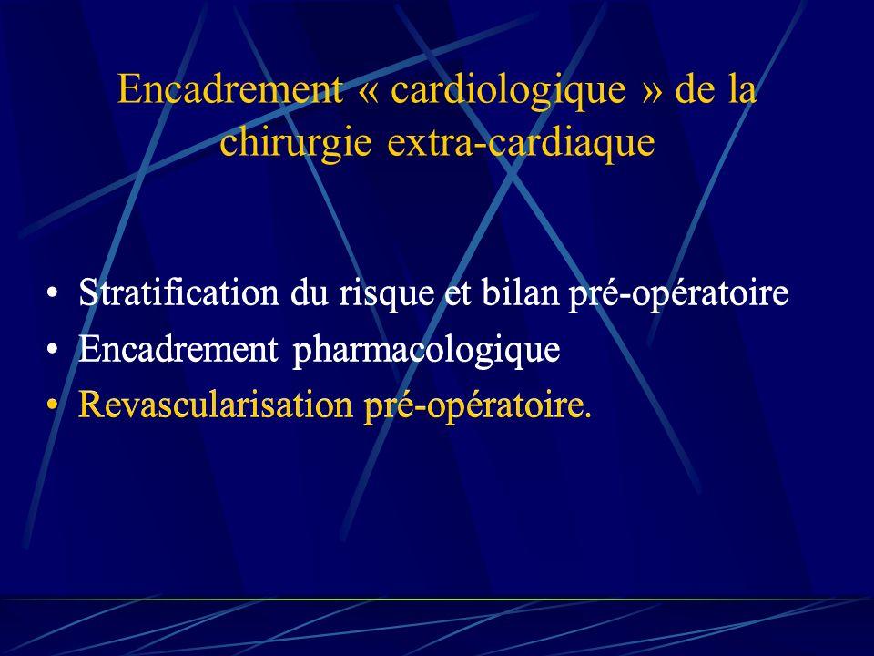 Encadrement « cardiologique » de la chirurgie extra-cardiaque