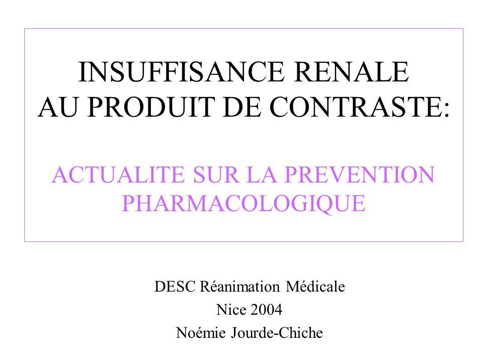 DESC Réanimation Médicale Nice 2004 Noémie Jourde-Chiche
