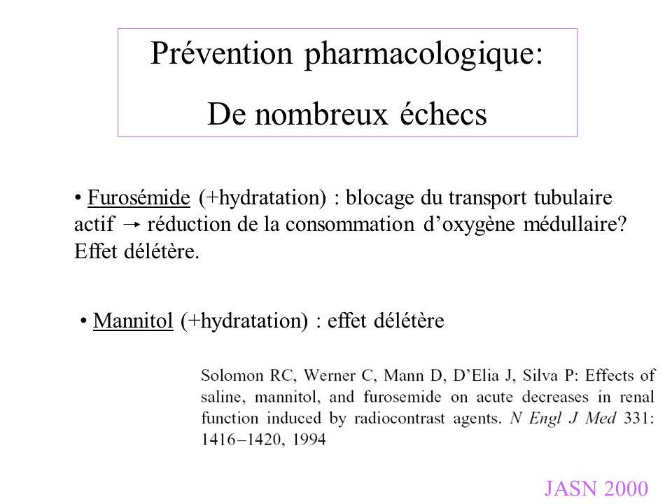 Prévention pharmacologique: