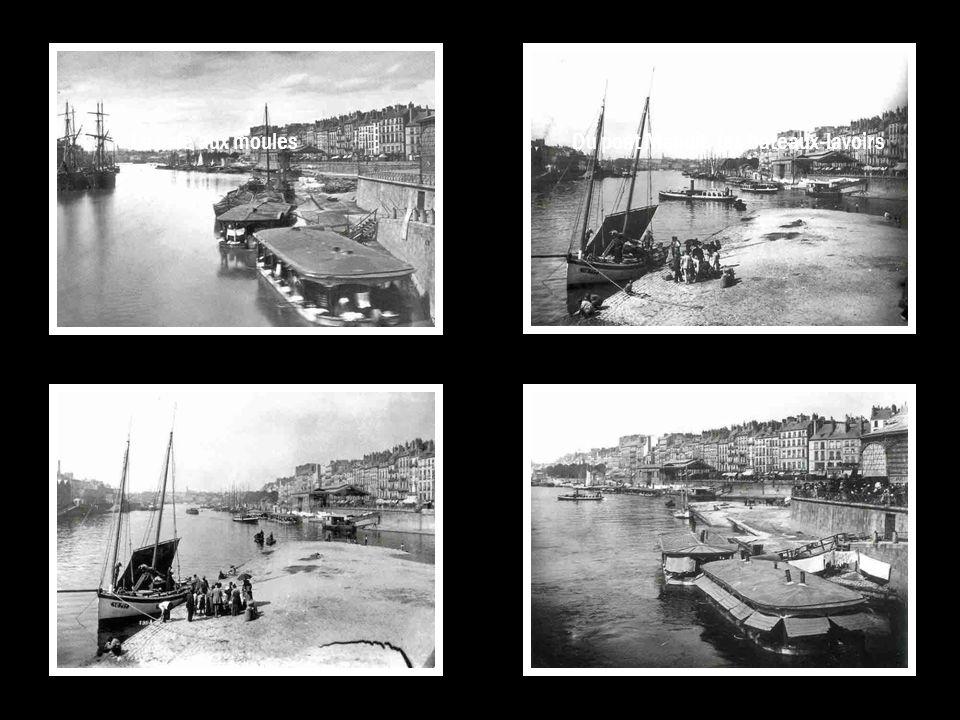 Du pont Maudit, les bateaux-lavoirs