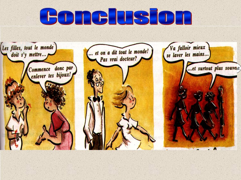 Conclusion souvent