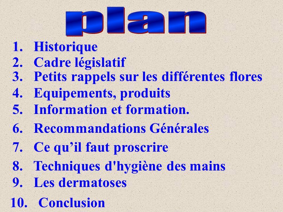 plan 1. Historique 2. Cadre législatif