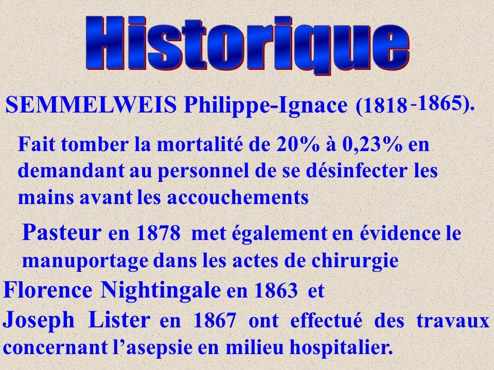 Historique SEMMELWEIS Philippe-Ignace (1818