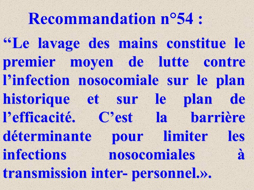 Recommandation n°54 :