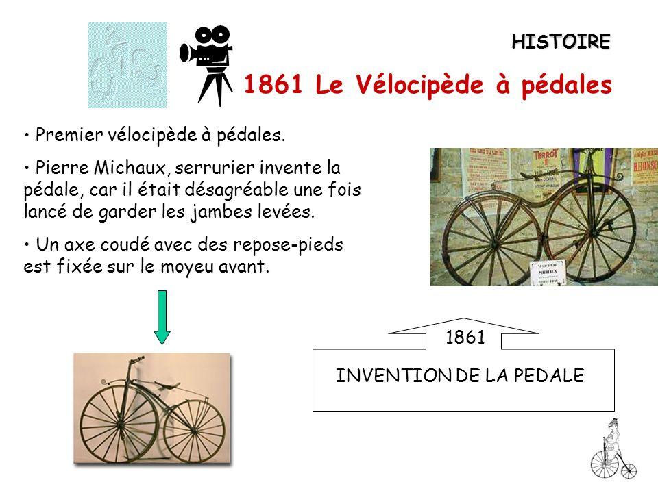 1861 Le Vélocipède à pédales