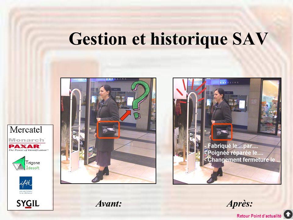 Gestion et historique SAV
