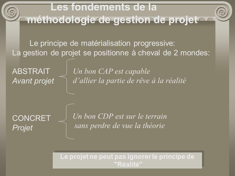 Le projet ne peut pas ignorer le principe de