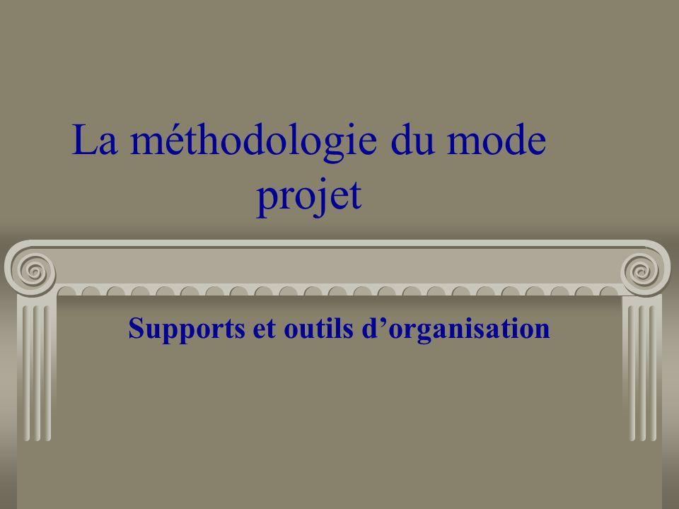 La méthodologie du mode projet