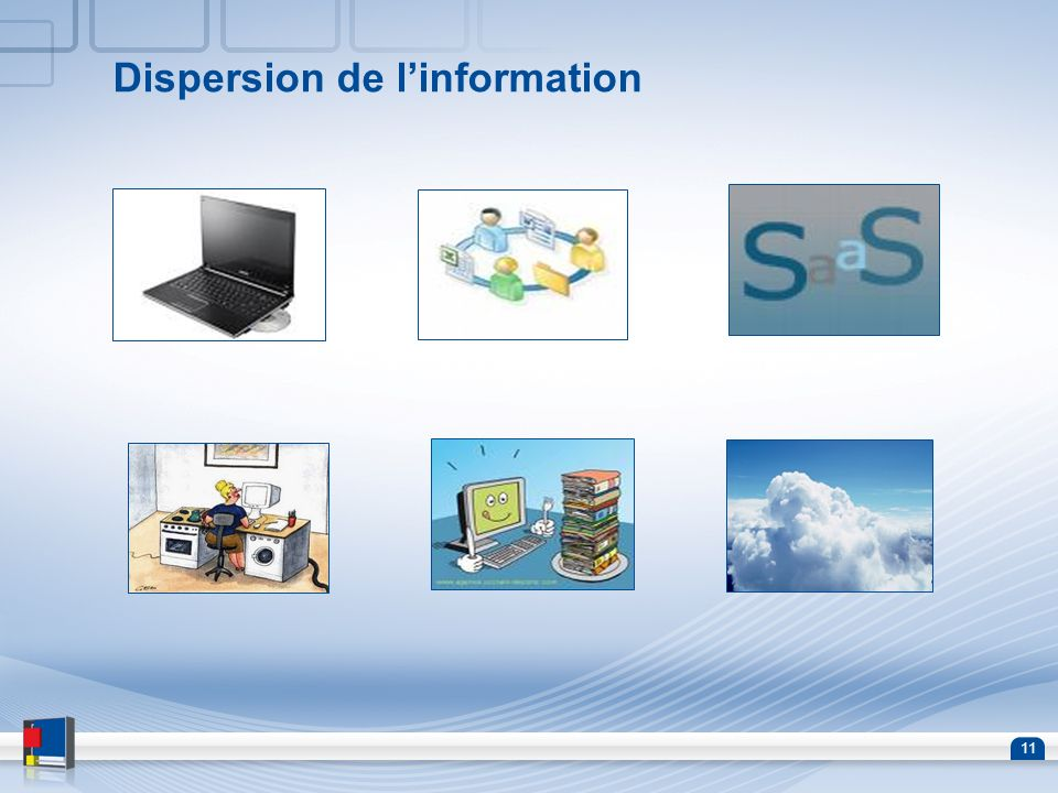 Dispersion de l'information