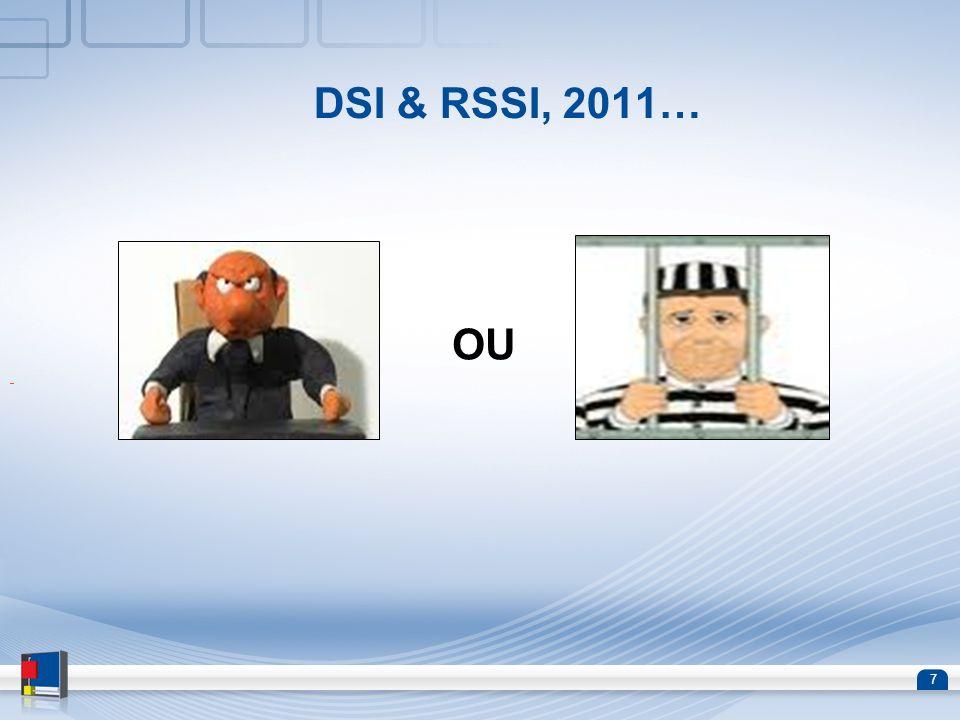 DSI & RSSI, 2011… OU