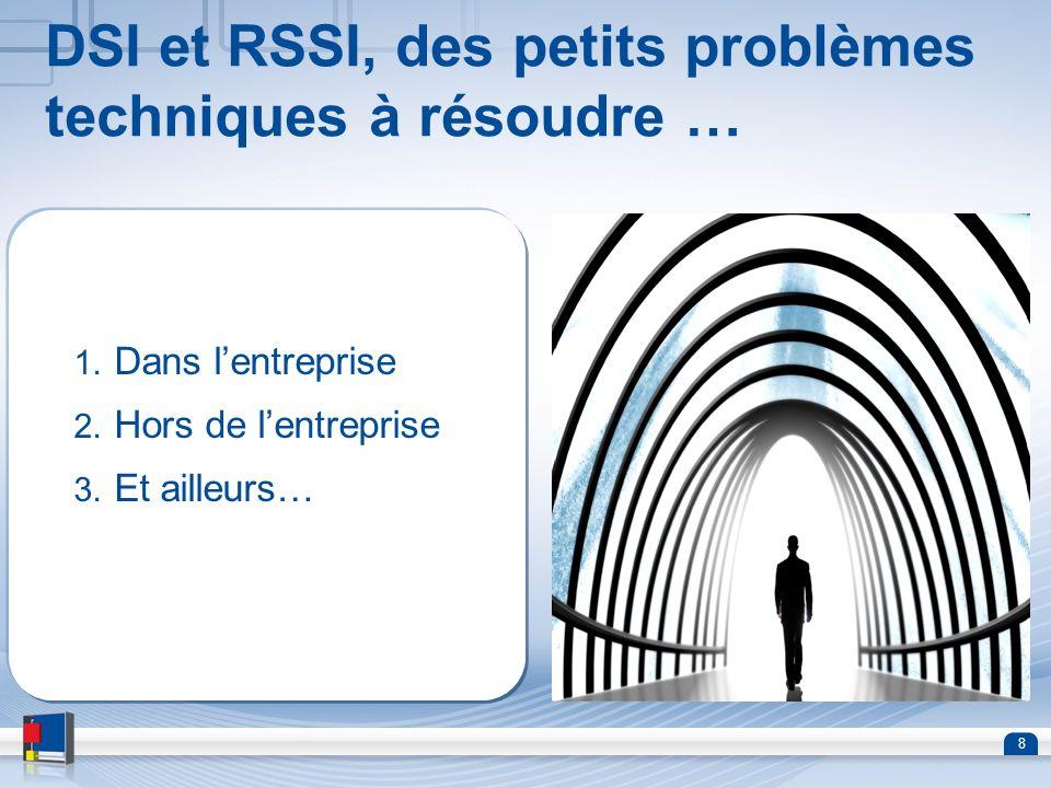 DSI et RSSI, des petits problèmes techniques à résoudre …