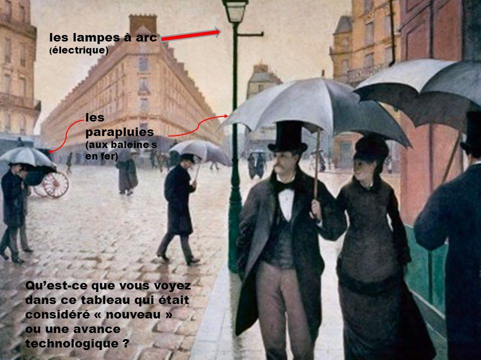 les lampes à arc les parapluies