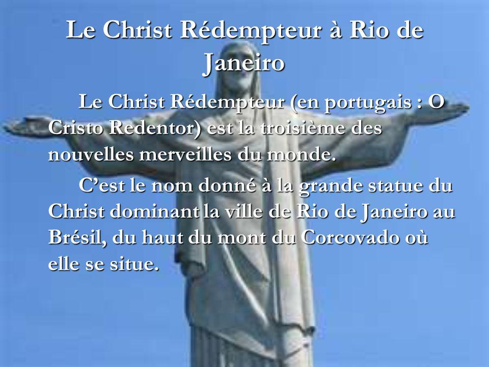 Le Christ Rédempteur à Rio de Janeiro