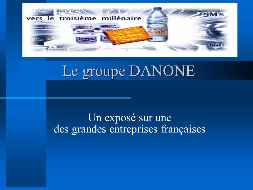 Un exposé sur une des grandes entreprises françaises