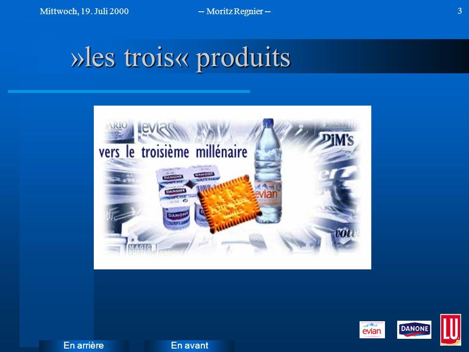 »les trois« produits