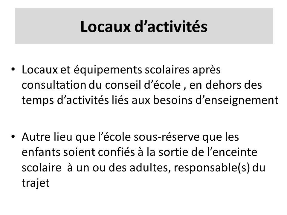 Locaux d'activités