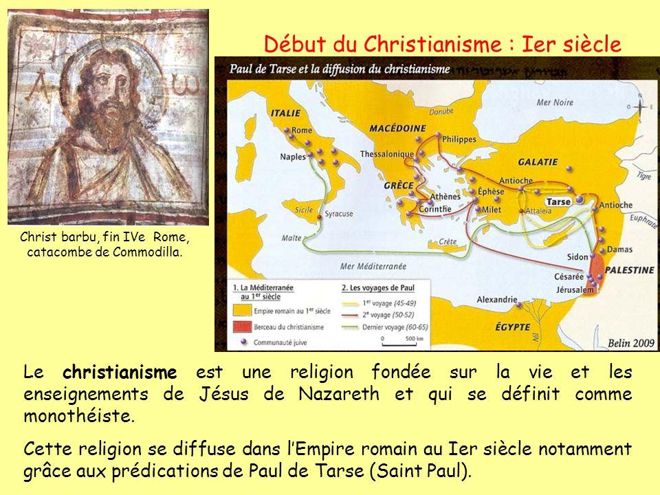 Début du Christianisme : Ier siècle