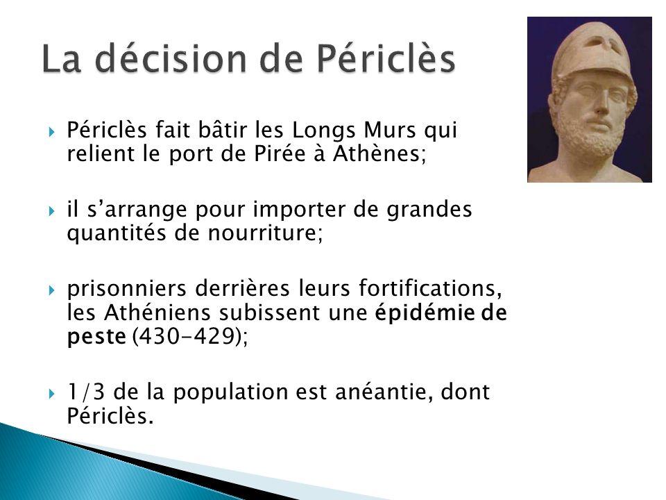 La décision de Périclès