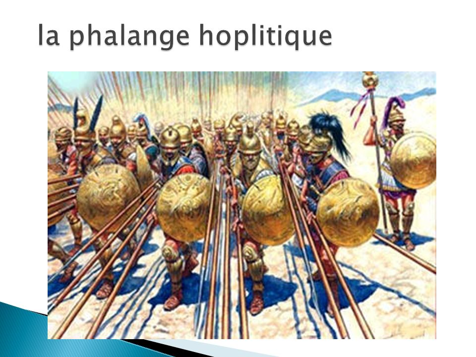 la phalange hoplitique