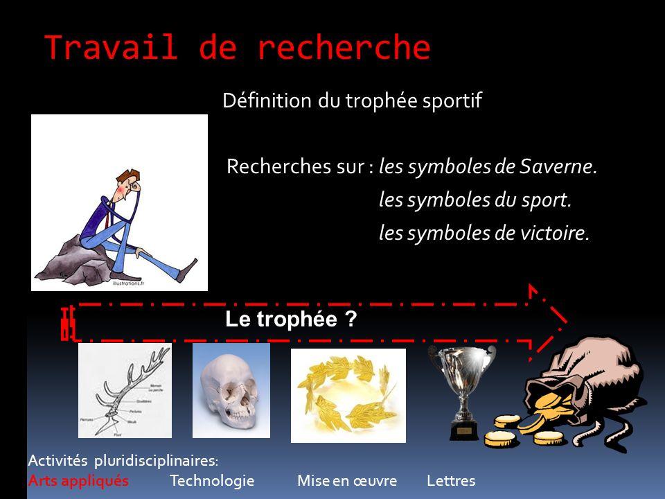 Travail de recherche Définition du trophée sportif