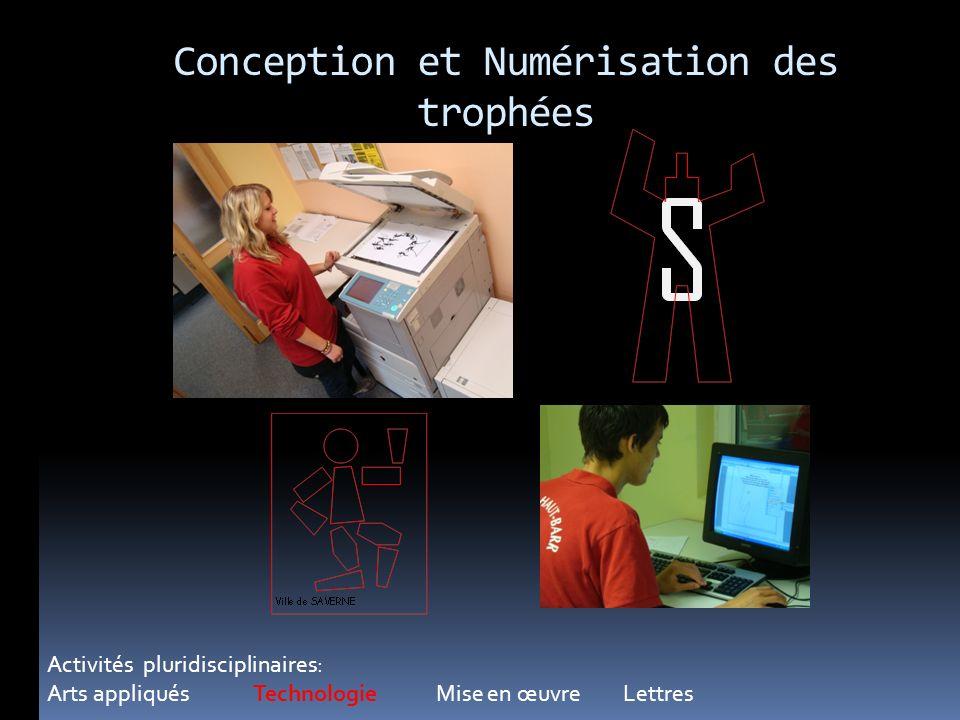 Conception et Numérisation des trophées