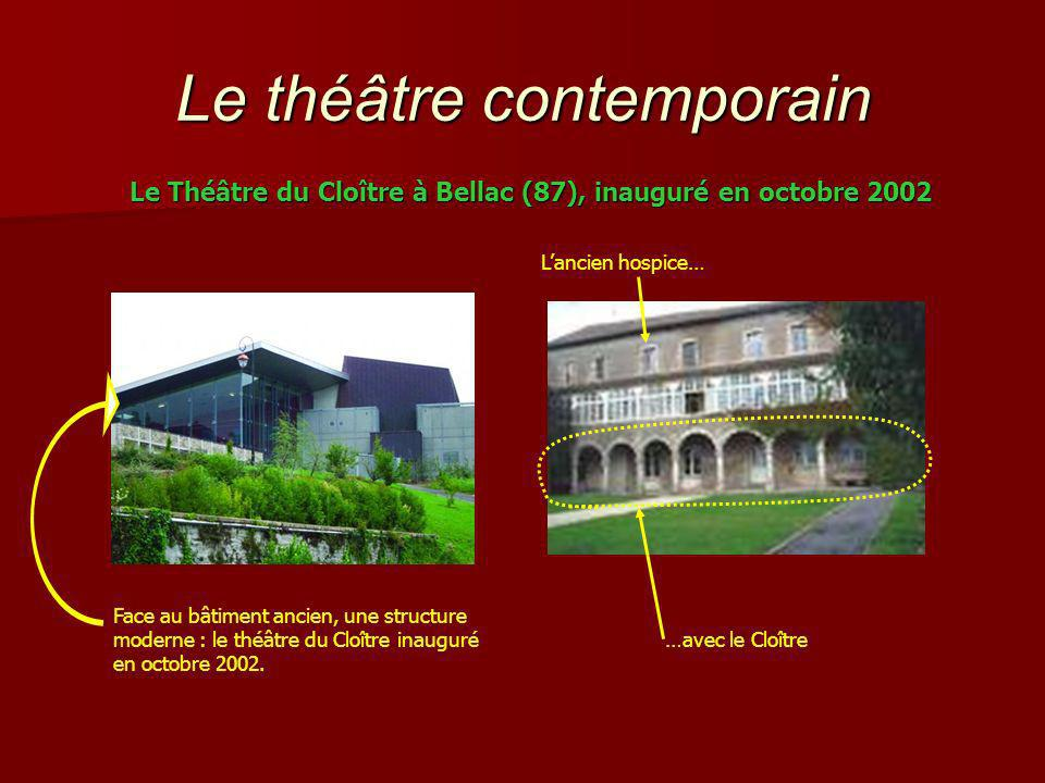 Le théâtre contemporain