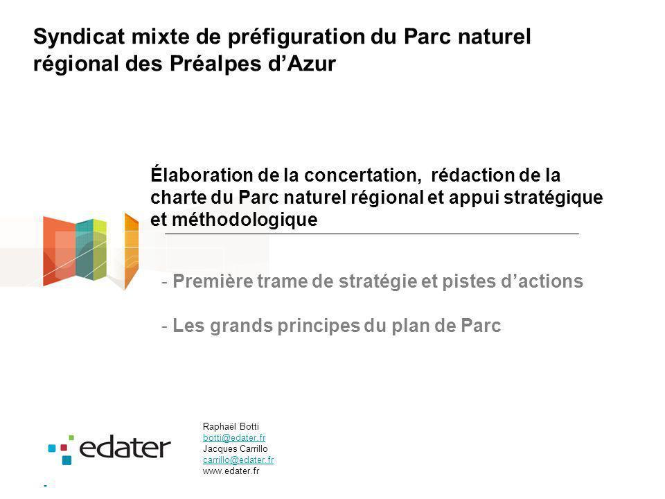 Syndicat mixte de préfiguration du Parc naturel régional des Préalpes d'Azur