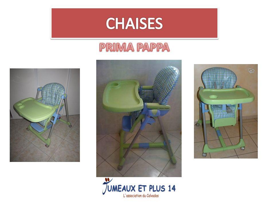 CHAISES PRIMA PAPPA
