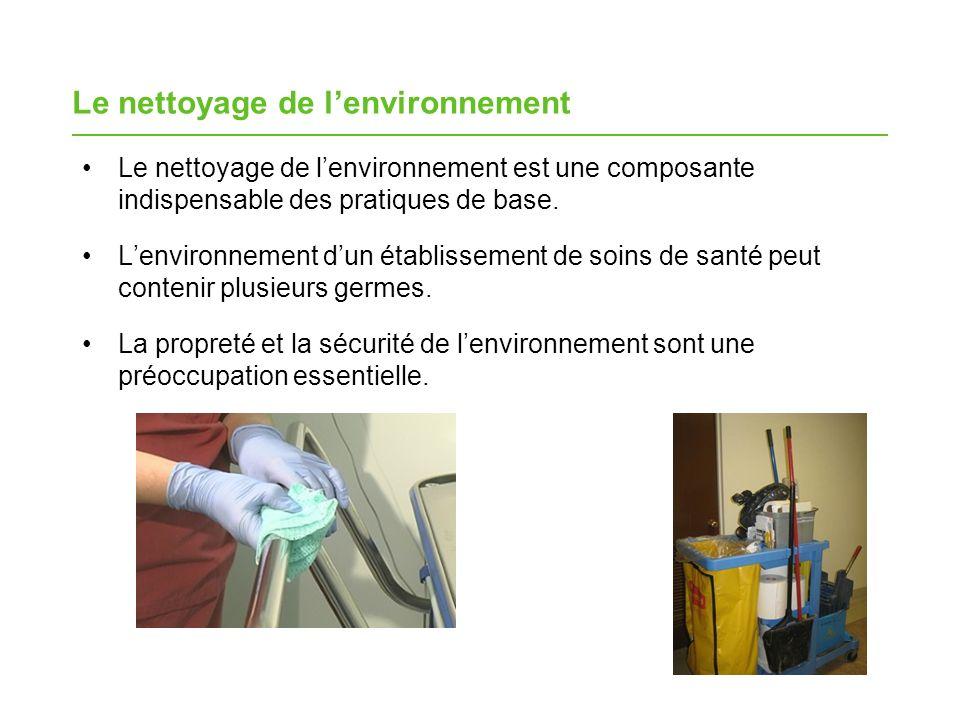 Le nettoyage de l'environnement