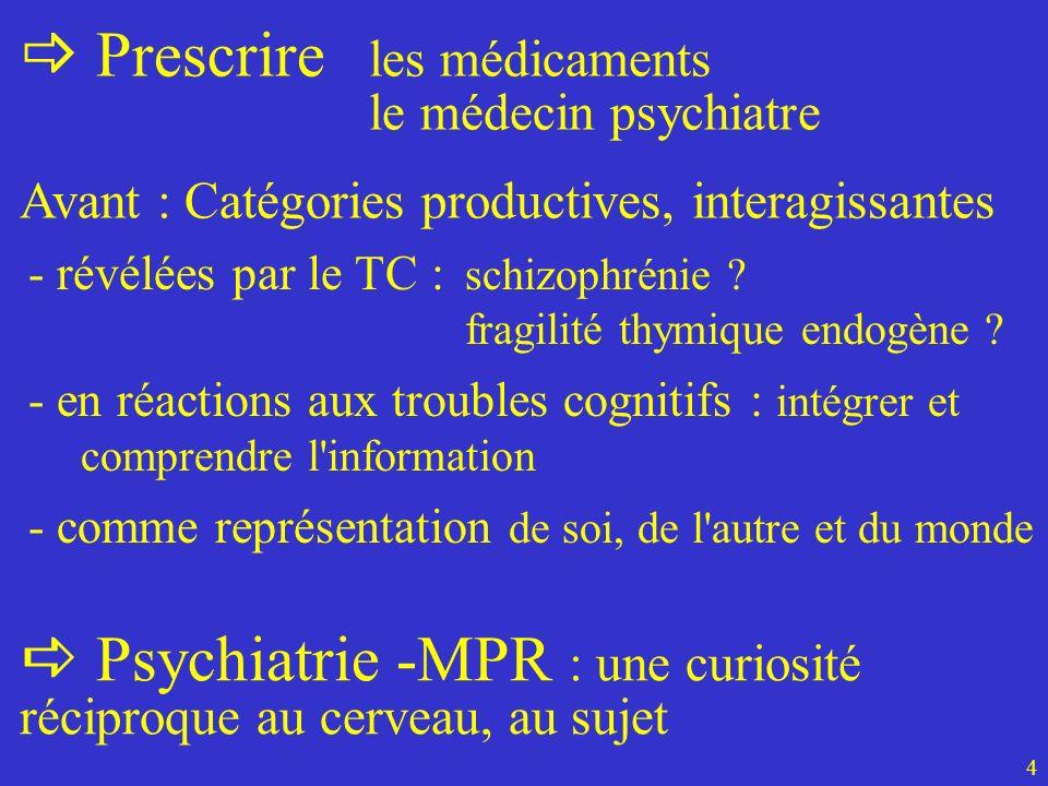 Prescrire les médicaments