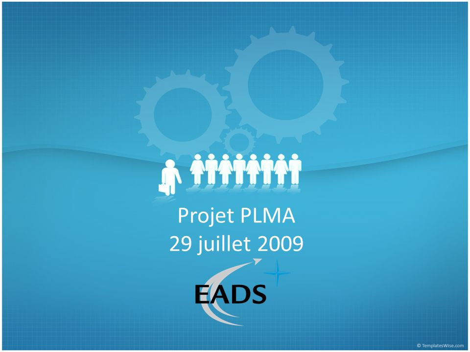 Projet PLMA 29 juillet 2009