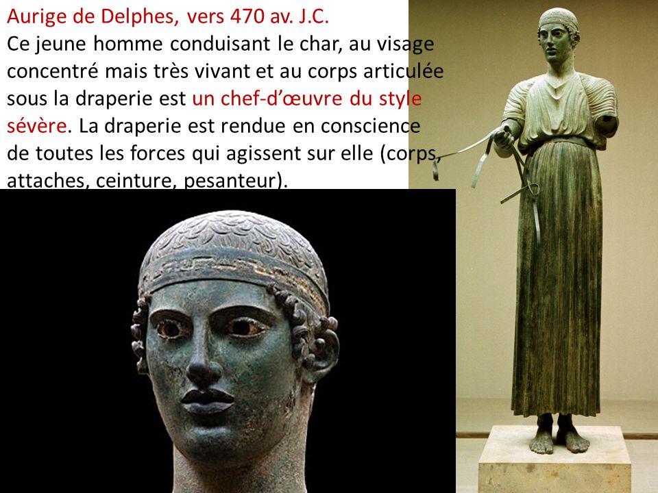Aurige de Delphes, vers 470 av. J. C