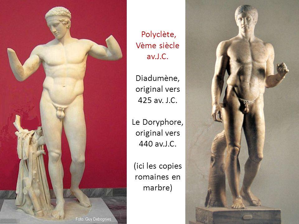 Polyclète, Vème siècle av. J. C. Diadumène, original vers 425 av. J. C