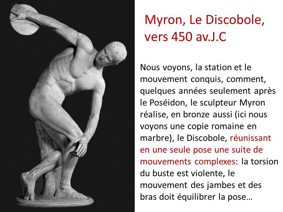 Myron, Le Discobole, vers 450 av.J.C