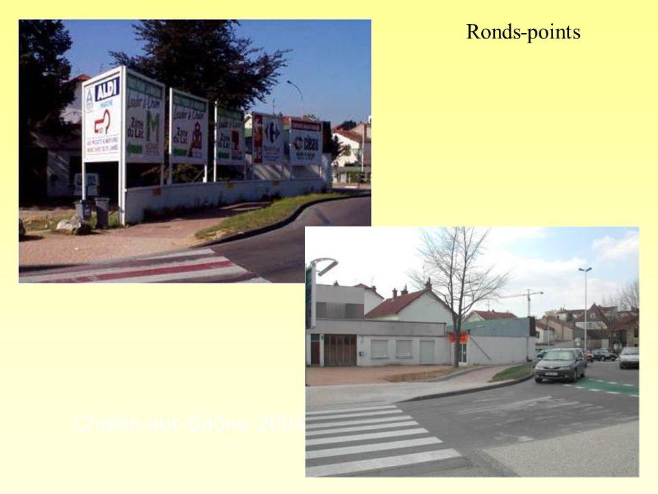 Ronds-points Chalon-sur-Saône 2004 photo 1 « après »