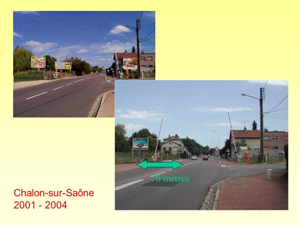 70 mètres Chalon-sur-Saône 2001 - 2004
