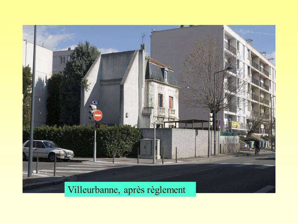 Villeurbanne, après règlement