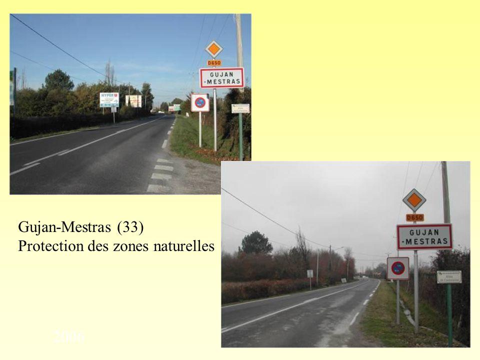 Gujan-Mestras (33) Protection des zones naturelles 2006