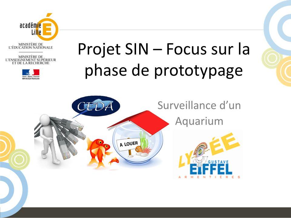 Projet SIN – Focus sur la phase de prototypage
