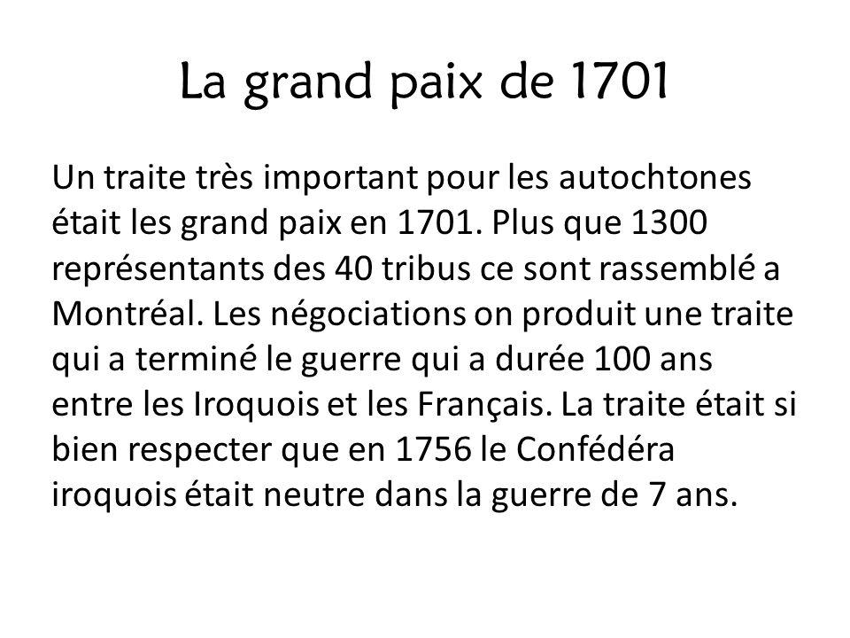 La grand paix de 1701