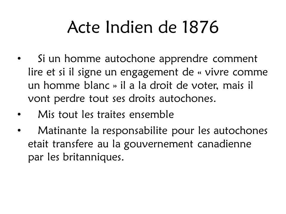 Acte Indien de 1876